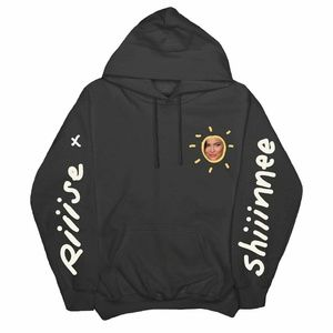 RARE Kylie Jenner Shop Rise and Shine Black Hoodie
